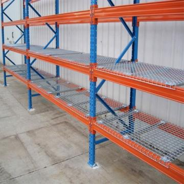 6 Tier Adjustable Industrial Wire Shelving Office Wire Racking Industrial Storage Solutions