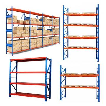 Heavy Duty Factory Mobile Adjustable Nestainer Rack for Industrial Storage