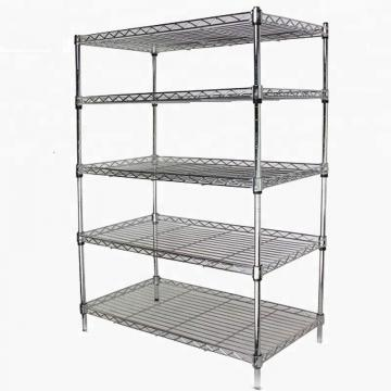 Cool Room Longspan Adjustable Steel Wire Mesh Movable Shelving