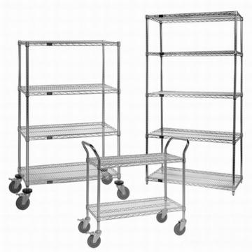 Adjustable Layer Steel Wire Rack Shelf for Supermarket