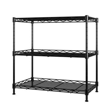 Popular 6 Tier Multifunction Adjustable Chrome Steel Wire Shelves with NSF Approval
