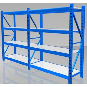 Used Industrial Rivet Shelving Warehouse Shelving Boltless Shelving Wood Shelf Ebay