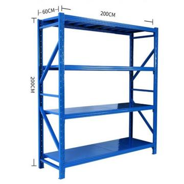 Durable mezzanine steel shelves frame shelving for factory